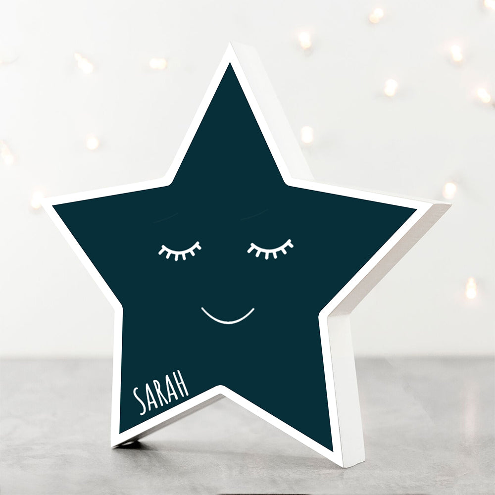 Personalised Smiling Star Keepsake - treat-republic