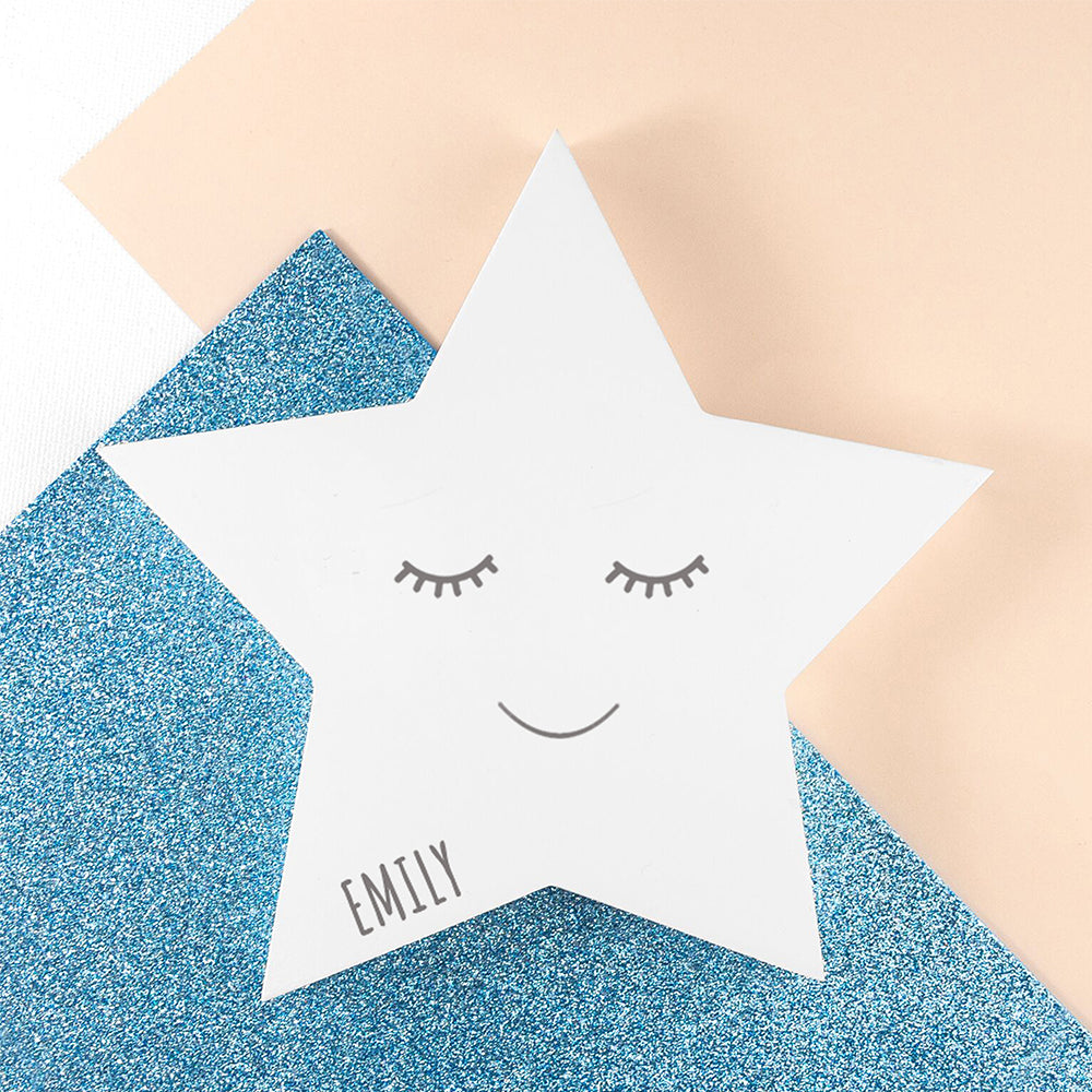 Personalised Smiling Star Keepsake
