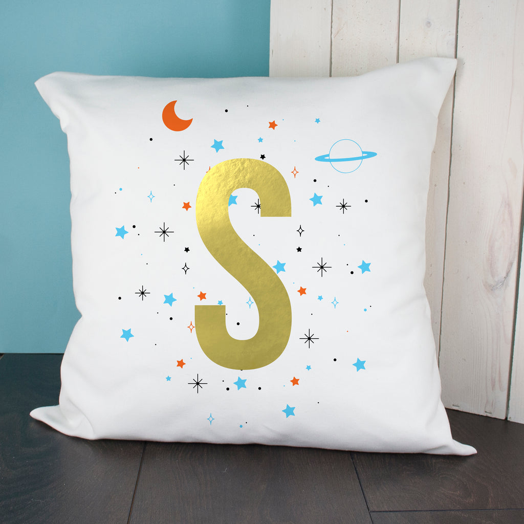 Personalised Space Boy Cushion Cover