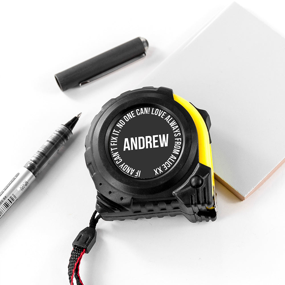 Personalised Tape Measure - treat-republic