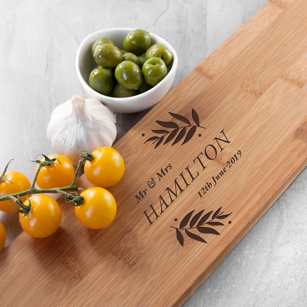 Personalised Wedding Serving Board - treat-republic