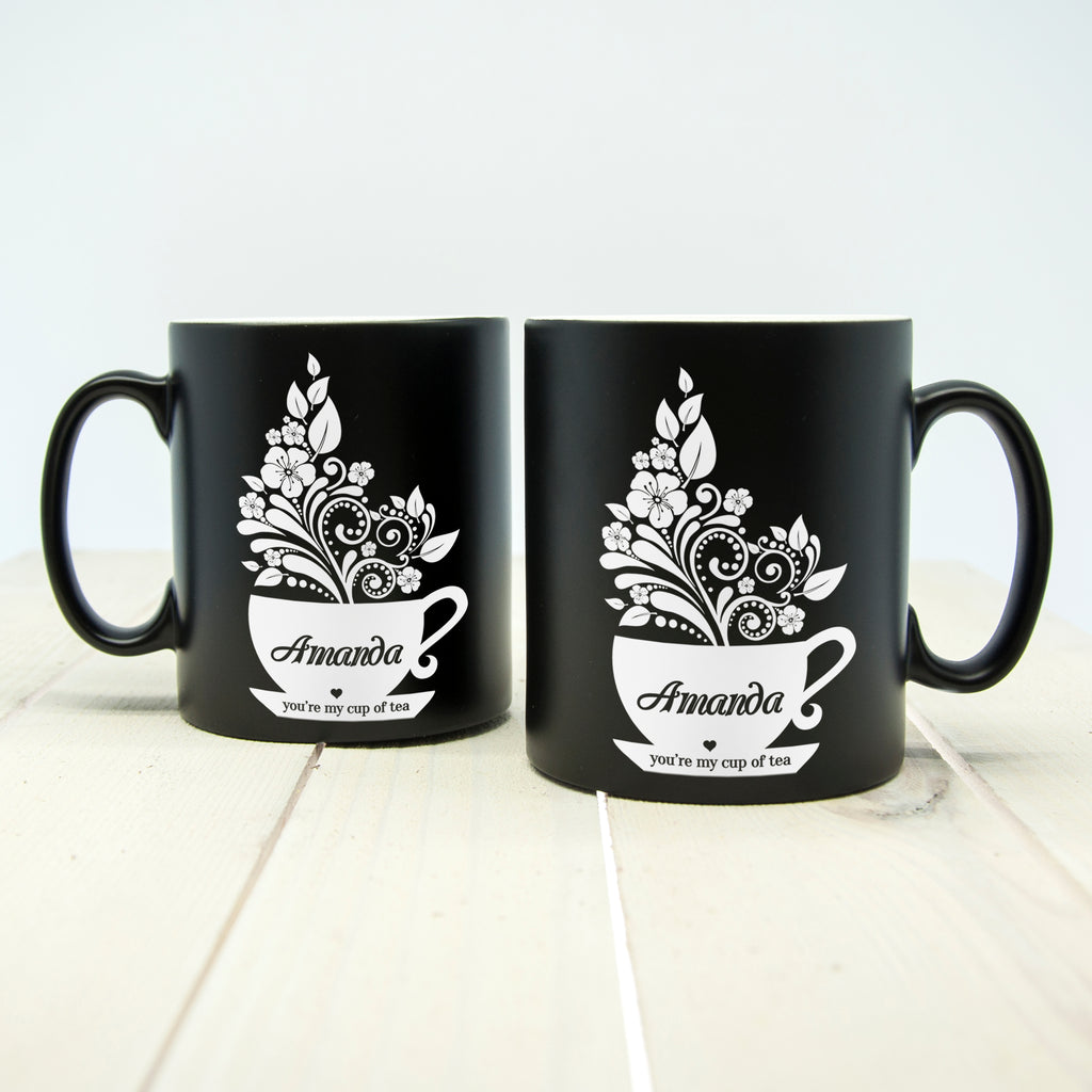 "Personalised Couple's ""You're My Cup Of Tea"" Mugs - treat-republic"