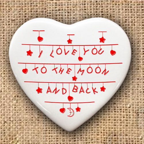 To the Moon and Back Heart Keepsake - treat-republic