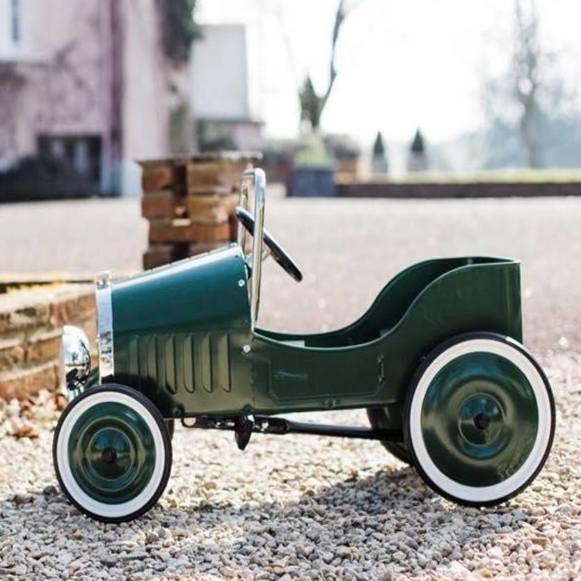 Personalised 1939 Vintage Pedal Car for Kids - treat-republic