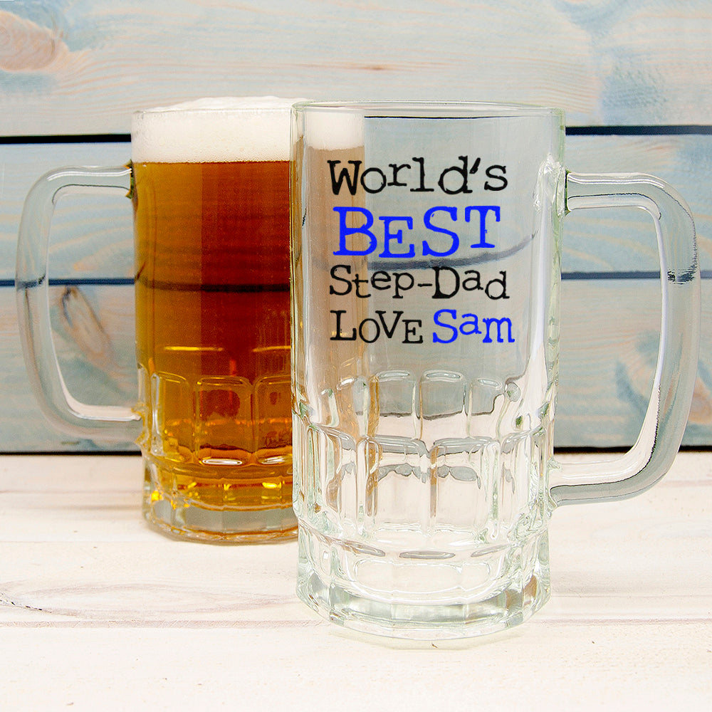 World's Best Step-Dad Tankard - treat-republic