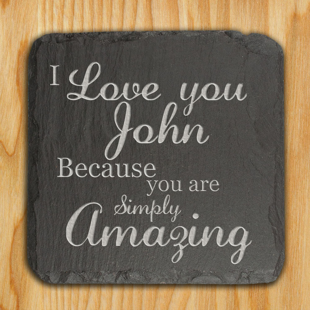 You are Simply Amazing Slate Keepsake - treat-republic