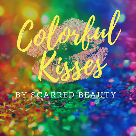Colorful Kisses by Scarred Beauty