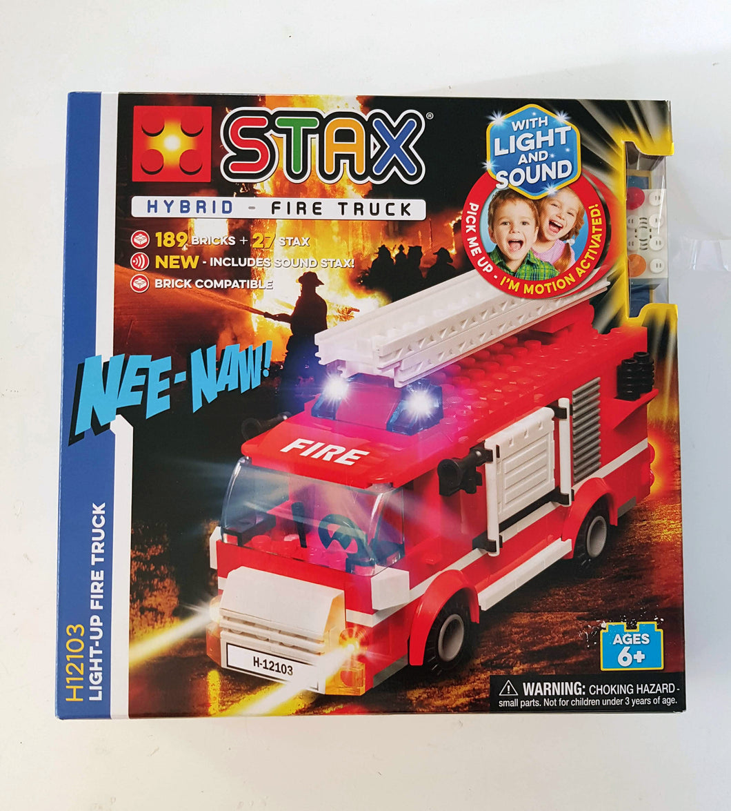 Light Stax Hybrid Fire Truck