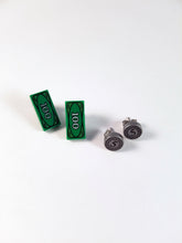 LEGO® Money Dollar Earrings