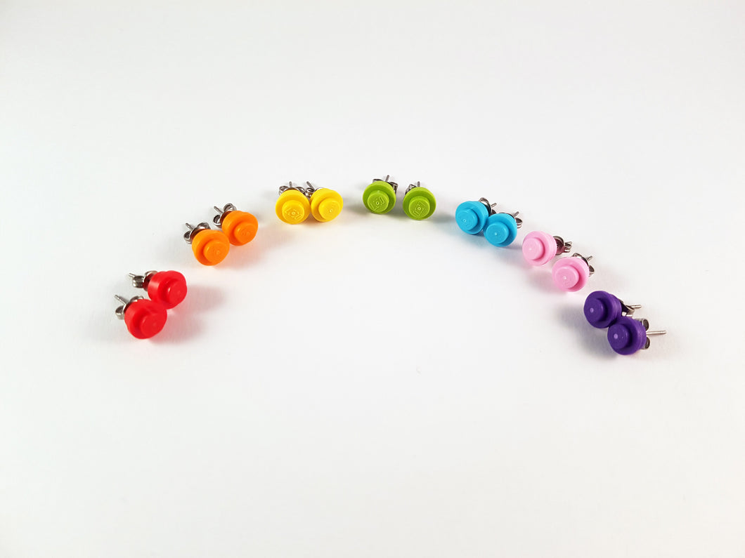 LEGO® Rainbow Earrings