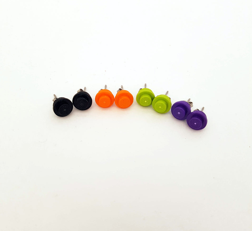 LEGO® Halloween Stud Earrings-4 pack