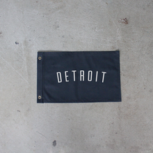 Load image into Gallery viewer, Black Detroit Flag