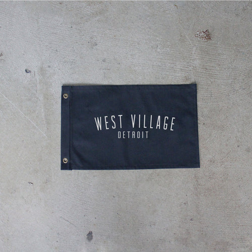 Black West Village Flag