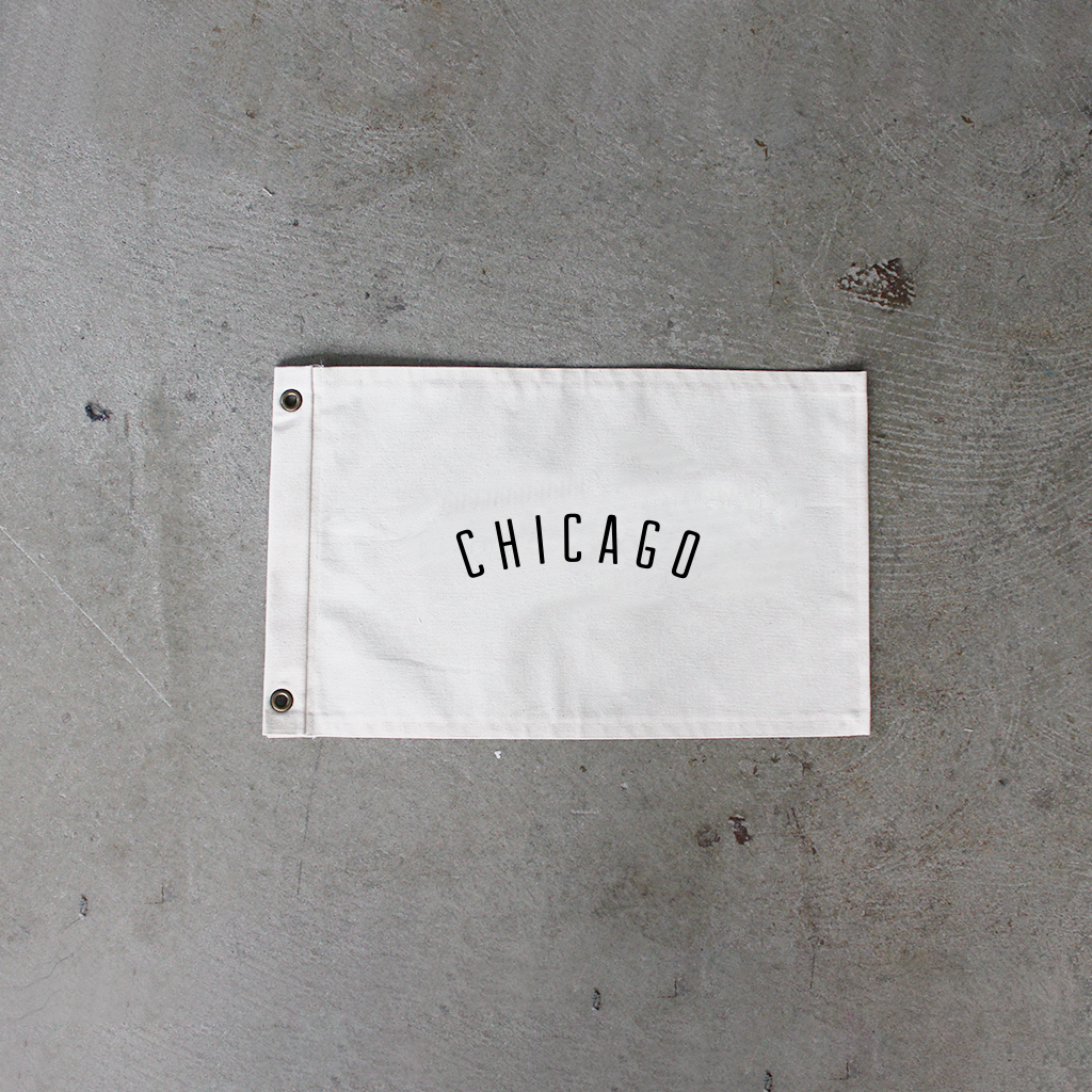 Natural Chicago Flag
