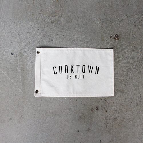 Natural Corktown Flag