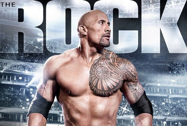 Programme de musculation format calendrier : The rock!