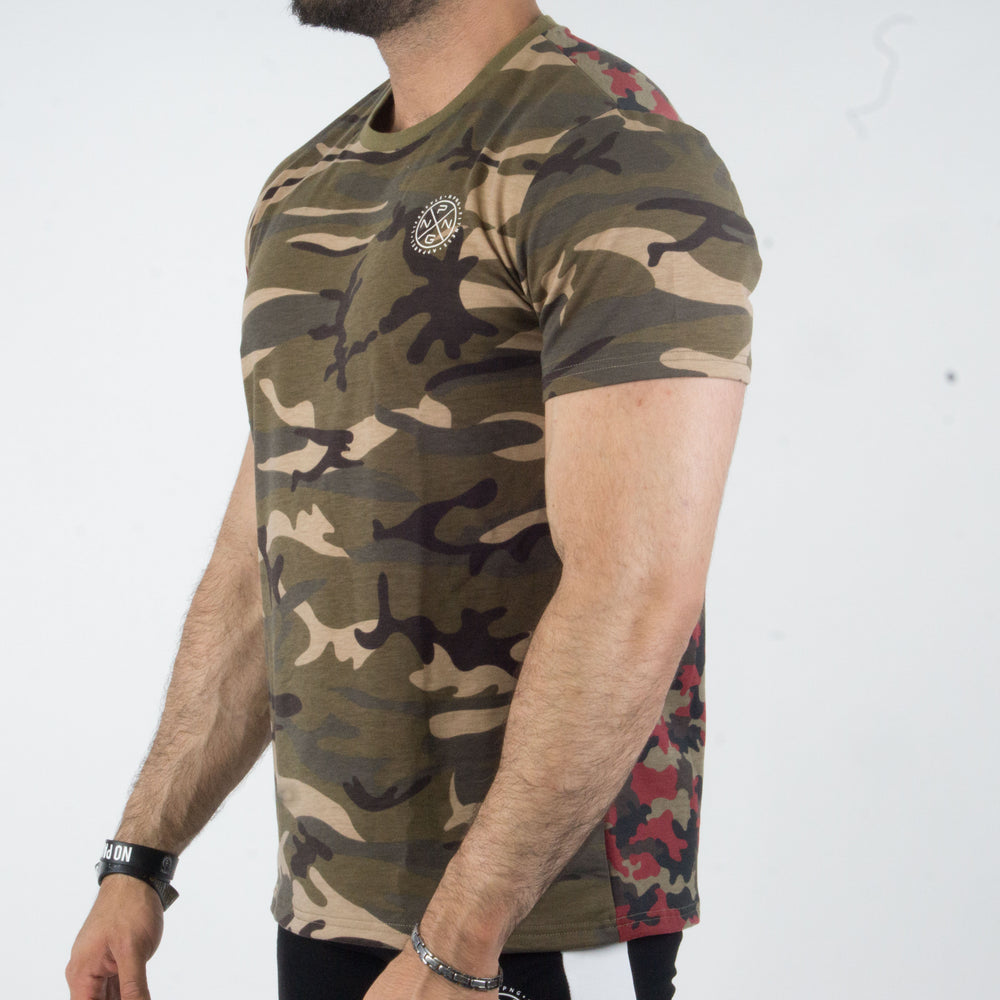 T-shirt Reckless Double Camo