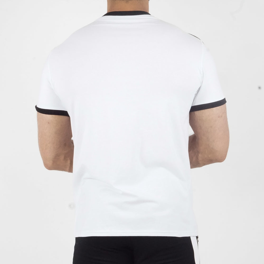 T-shirt Reckless Blanc/Noir