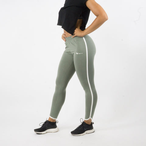 Legging Outline Olive
