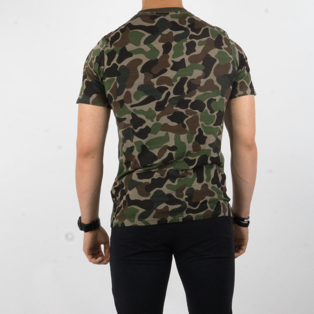 T-shirt Reckless Camo Turtle