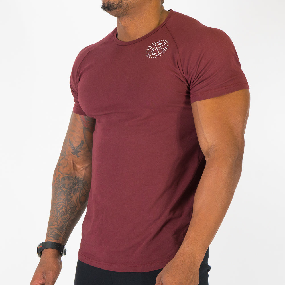T-shirt Core Series - Bordeaux