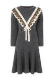 .ACADEMY KNIT TUNIC DRESS