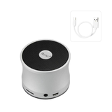 REIKO UNIVERSAL MINI BLUETOOTH SPEAKER IN SILVER