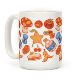 Gamer Food Items Ceramic Coffee Mug by LookHUMAN