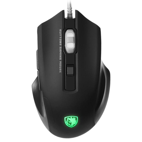 6 Buttons 2500 DPI LED Optical Wired Gaming Mouse