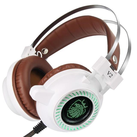Stereo Gaming LED Headphone with Microphone