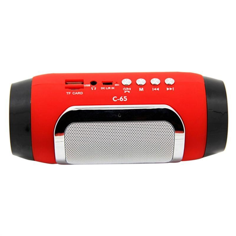 Mini Portal Subwoofer Heavy Bass Bluetooth Speaker
