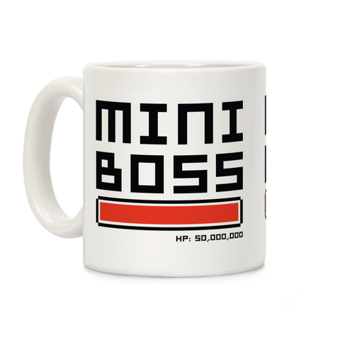 Mini Boss Ceramic Coffee Mug by LookHUMAN