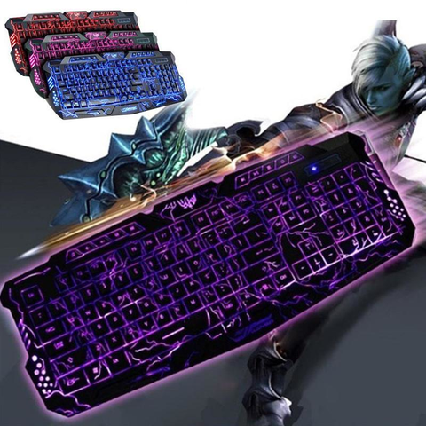 Wired Ultra Dragon Style 3 Backlight Gaming Keyboard
