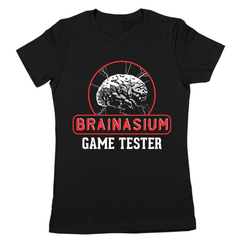Brainasium Game Tester Women's Jr Fit T-Shirt