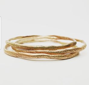 Rose Gold Sand Bangle