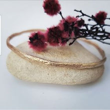 Load image into Gallery viewer, Rose Gold Sand Bangle