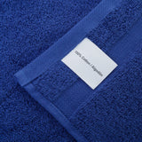 Navy Blue 2 PACK Turkish Cotton Bath Towels Set | Super Soft Highly Absorbent | Spa & Hotel Quality