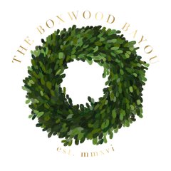 The Boxwood Bayou Logo