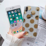 Gold Pattern Phone Case For iPhones-The Lustre Company
