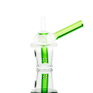 "3.5"" Little Green Cup Mini Rig"
