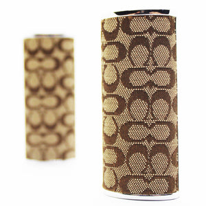 Coach Bic Lighter Case - Brown