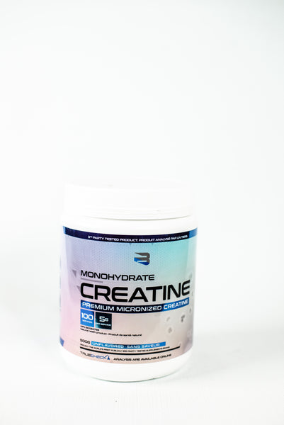 Believe Supplements Monohydrate Creatine 100 portions