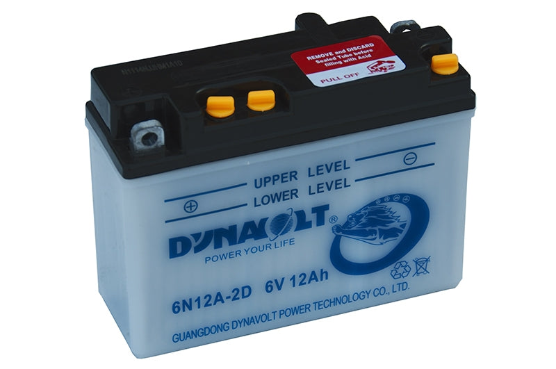 6N12A-2D battery from Batteryworld.ie