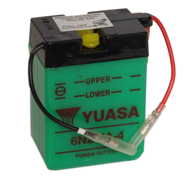 6N2-2A-4 battery from Batteryworld.ie