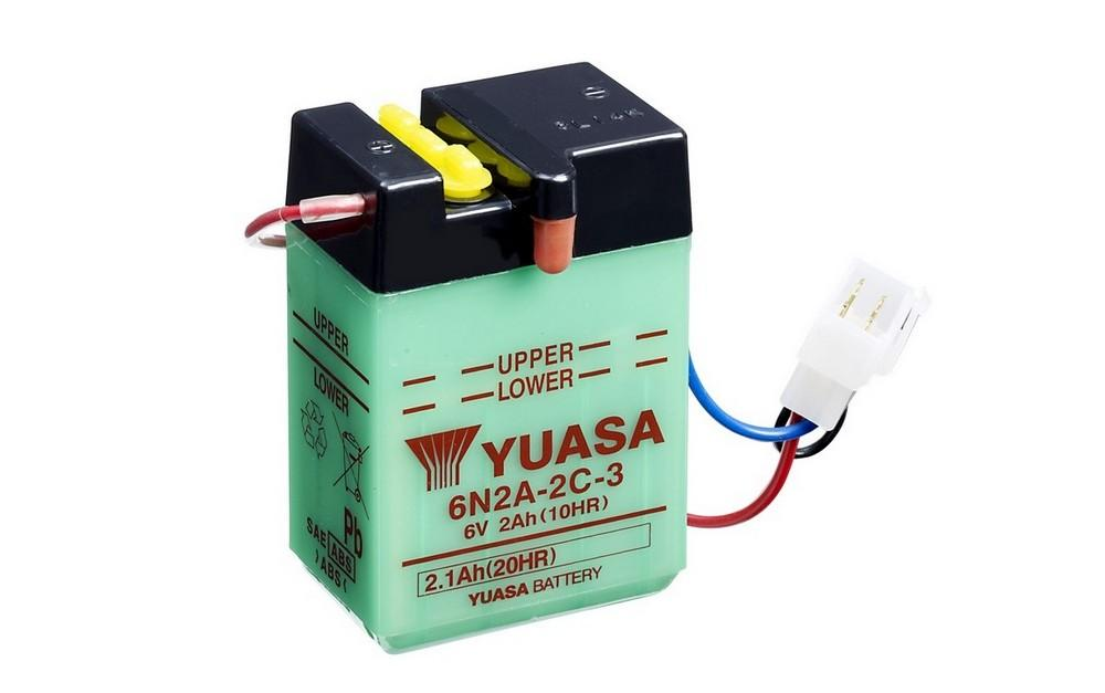 6N2A-2C-3 battery from Batteryworld.ie