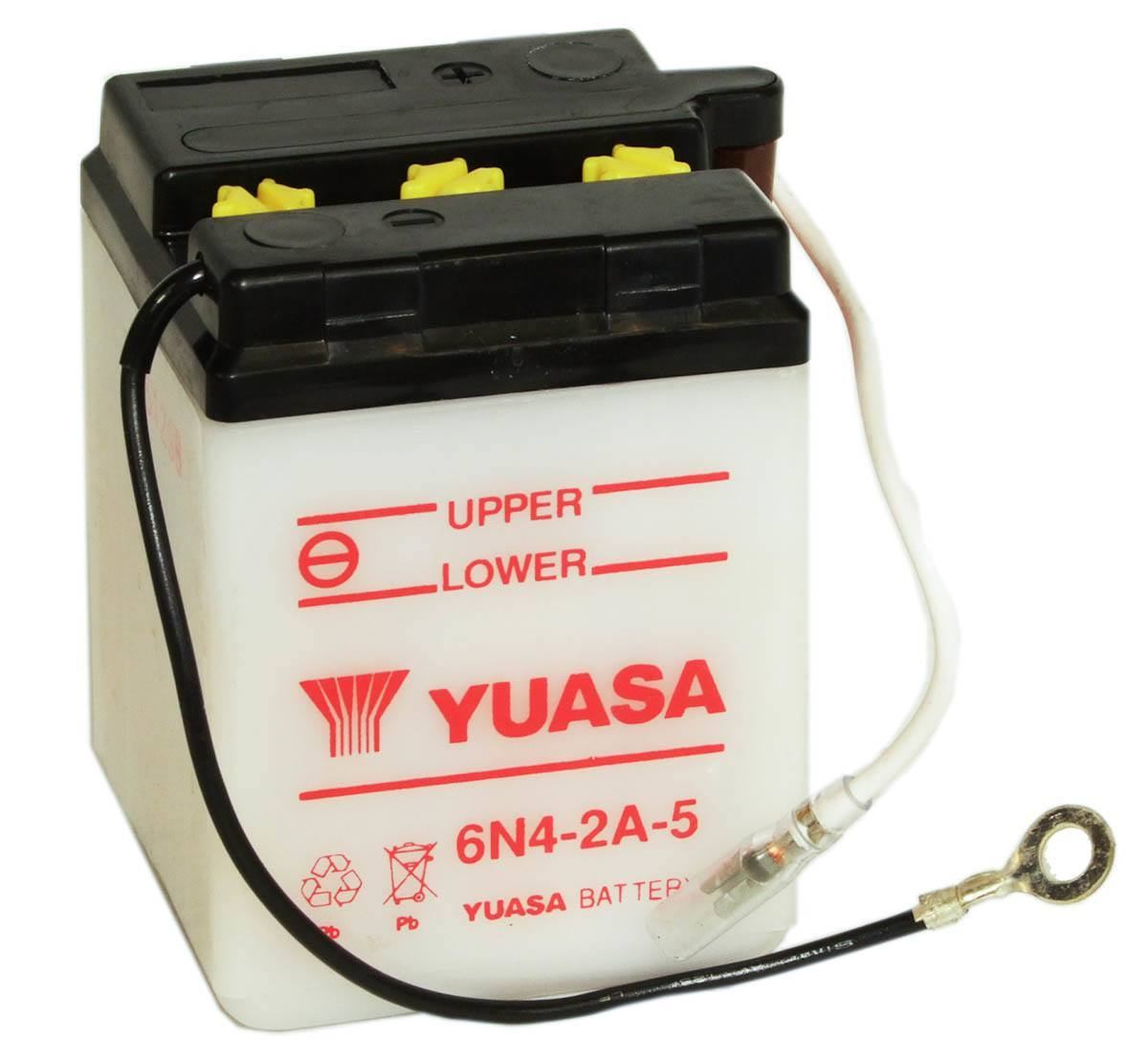 6N4-2A-5 battery from Batteryworld.ie