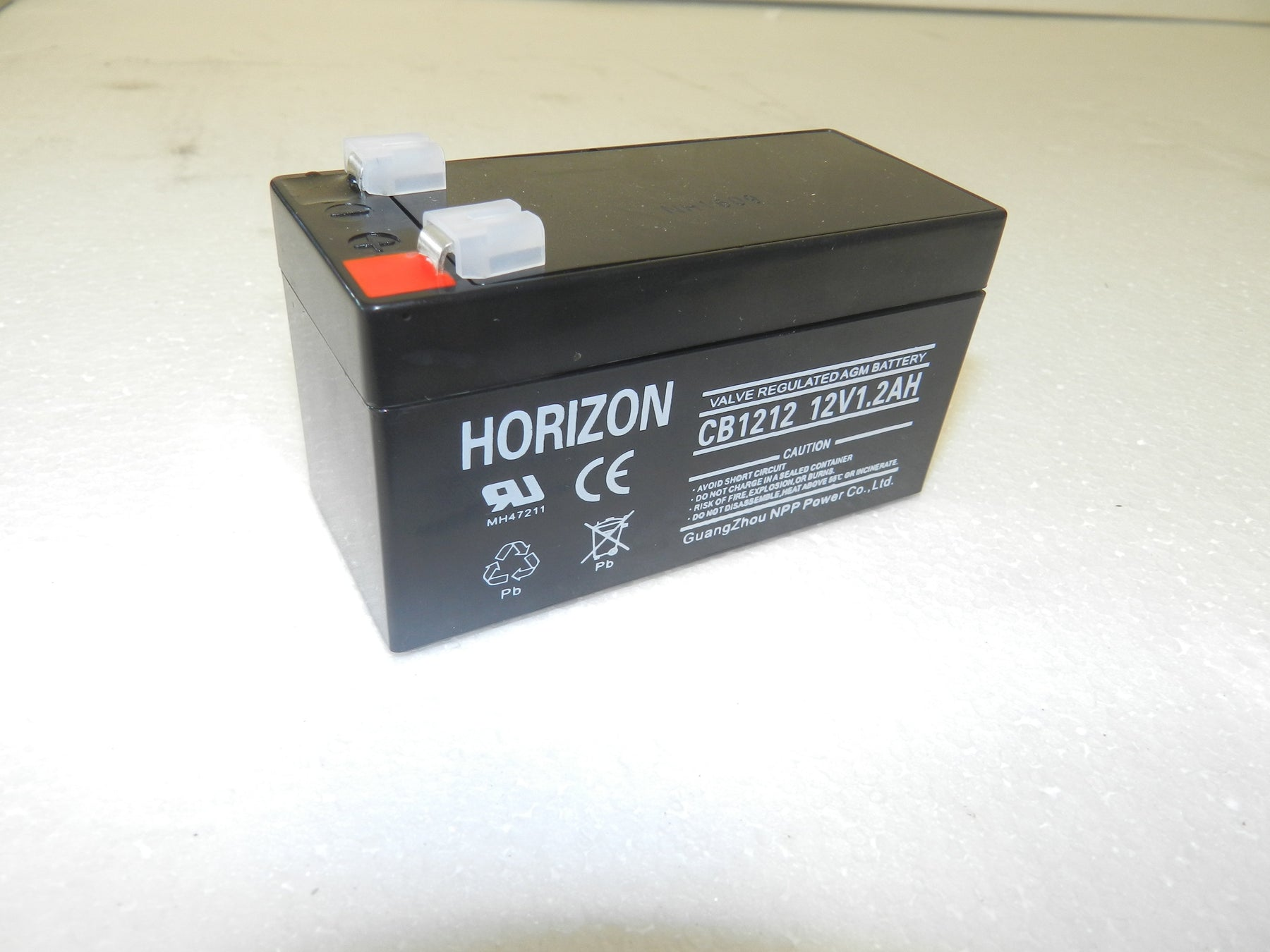 12v 1.2ah sla battery from Batteryworld.ie