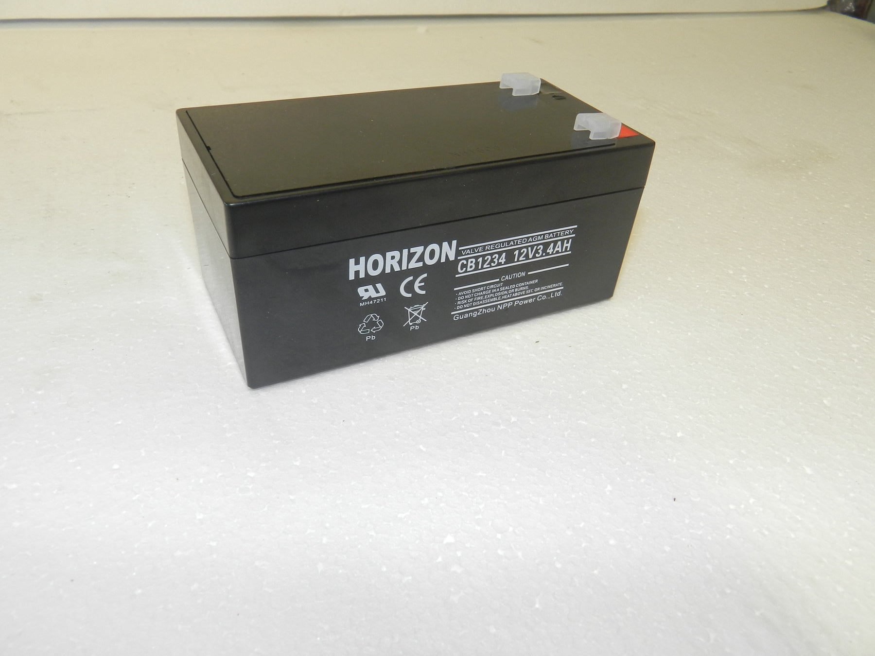 12v 3.4ah sla battery from Batteryworld.ie