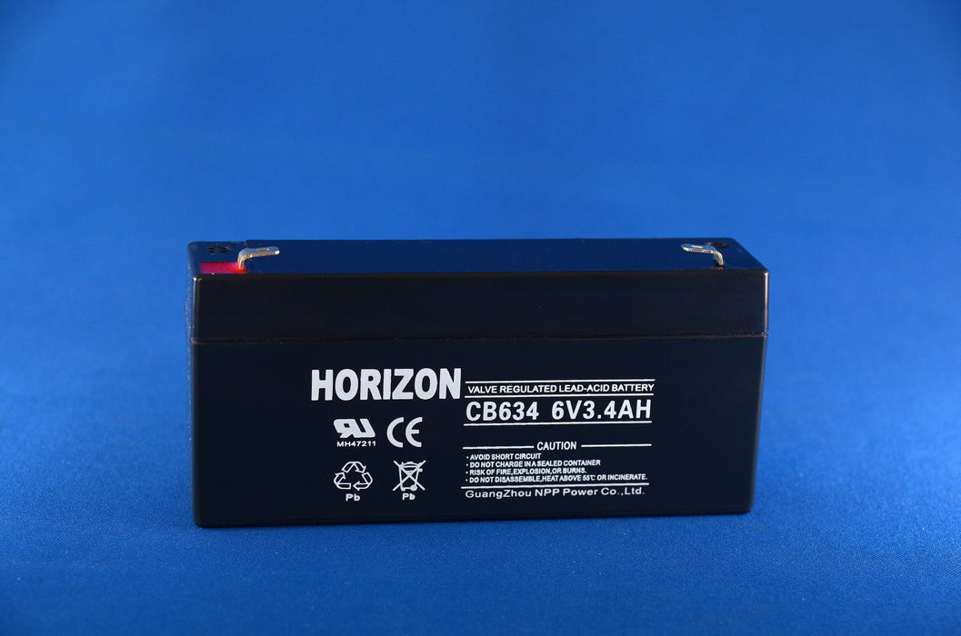 6v 3.4ah sla battery from Batteryworld.ie