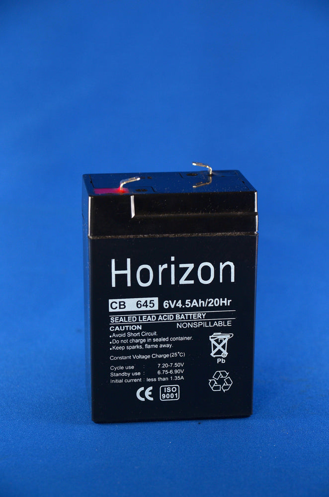 6v 4.5 ah sla battery from Batteryworld.ie